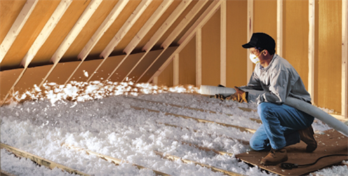Attic Insulation and Air Sealing