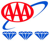 AAA 3 Diamond Award