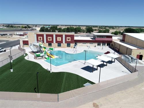 The new Recreational & Aquatic Center in Roswell