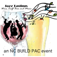 Jazz Tastings an NC BUILD PAC Event