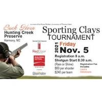 Buck Horn Sporting Clay Tournament