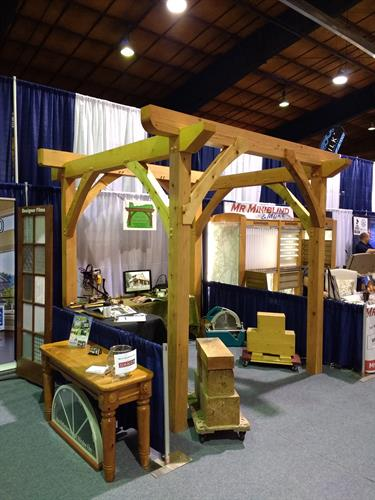 Small Pergola / Home Show Booth