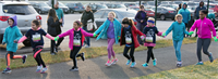 GOTR girls are part of a team and learn to support one another.