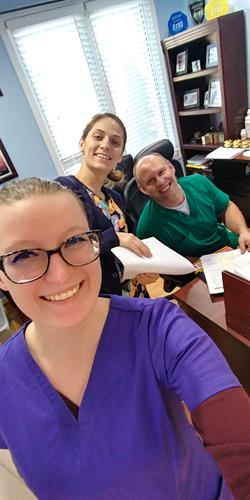 Meet our team here at DCOA: Bryanna, Sam, and Dr. Morrow!