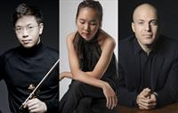Wolf Trap: Chamber Music at The Barns: Paul Huang, Danbi Um, and Orion Weiss