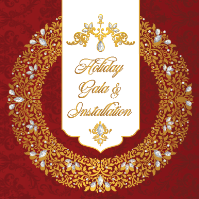 Holiday Gala & Installation of Officers