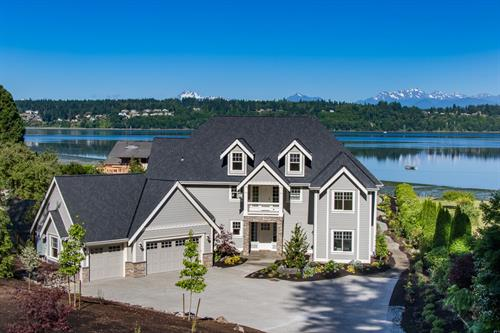 Custom Home Bainbridge Island