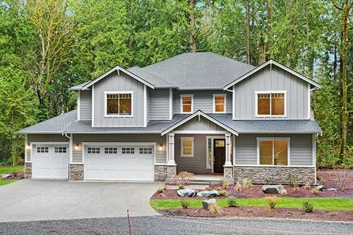 Northwest Craftsman Large Home