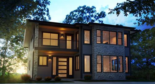 Modern Contemporary Custom House Plan