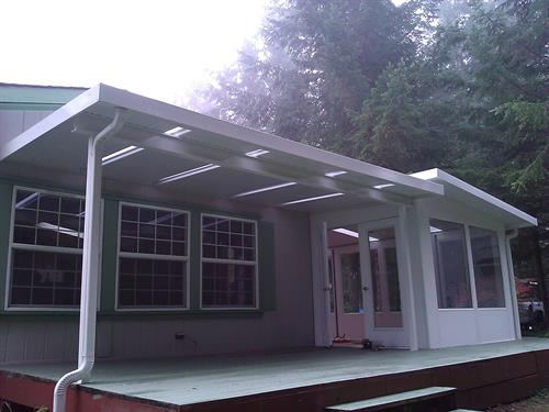 Sunroom and Patio Cover Combination