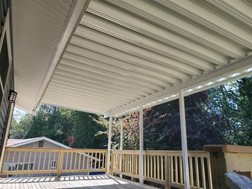 Patio Cover Systems ( Pan ) ( 2nd story deck cover )