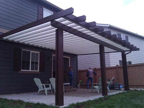 Patio Cover Systems ( Polycarbonate Lexan ) ( Color Options )