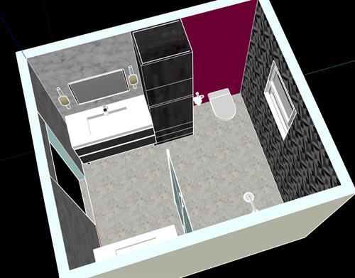 Concept drawing master bath