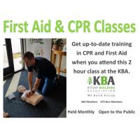 1st Aid/CPR Training and Recertification