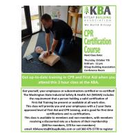 1st Aid / CPR Class
