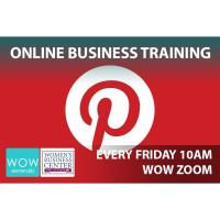 WOW Women Training:  Social Media Pinterest