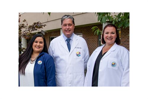 Dr. Graham and Provider team