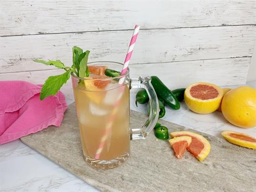 Grapefruit Mint Ice Tea Spritzer