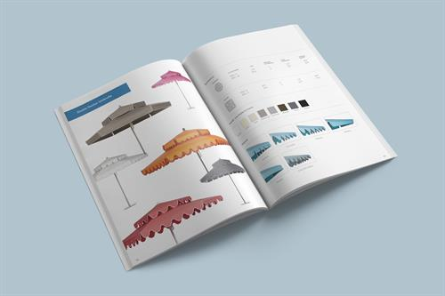 Catalog layout and design