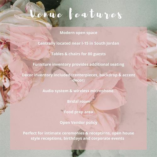 Venue Features