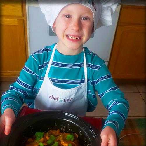 Boosting children's confidence by encouraging them to create in the kitchen!