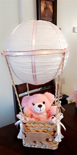 Center piece  theme hot air balloon