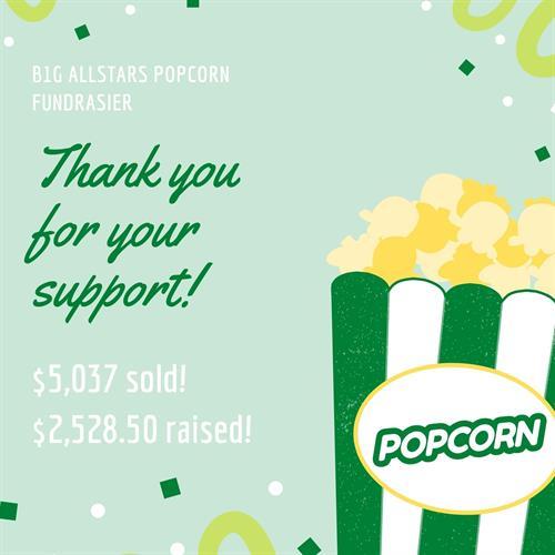 A fundraiser thank you image created by ALJ Digital LLC.