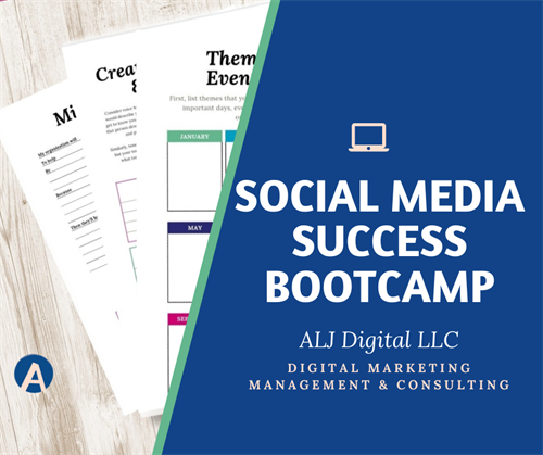 Visit ALJ Digital LLC online to learn more about the Social Media Success Bootcamp