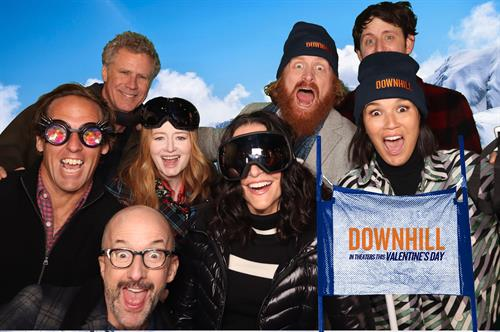"""Photo booth provider for the premiere of """"Downhill"""" at the 2020 Sundance Film Festival"""