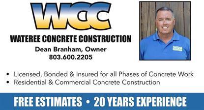 Wateree Concrete Construction