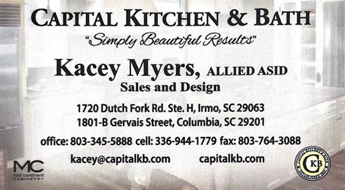 Kacey Myers, Allied ASID - Design & Sales