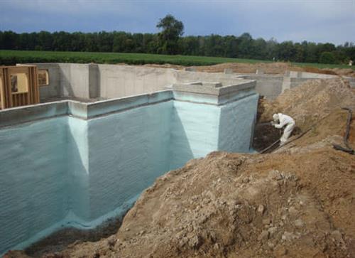 Foundation Moisture Barrier