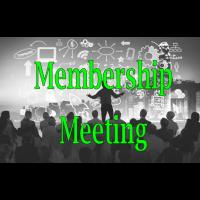 2021 April Membership Meeting