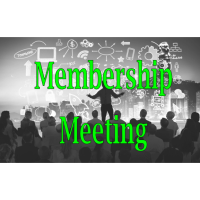 2021 May Membership Meeting
