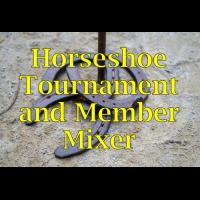 2021 Horseshoe Tournament & Mixer