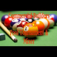 2021 Commercial Builders Council Pool Tournament/Mixer