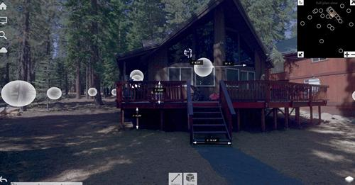3d Laser scan imagery overlay to point cloud