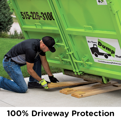 100% Driveway Protection