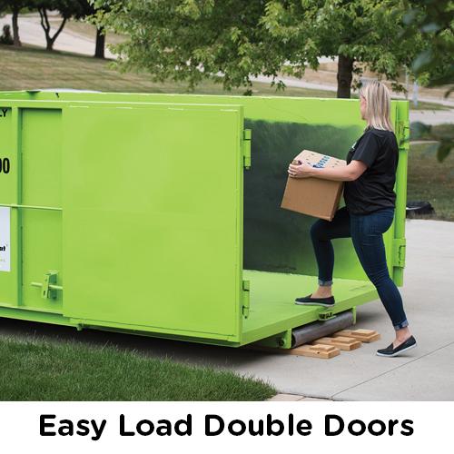 Easy Load Double Doors