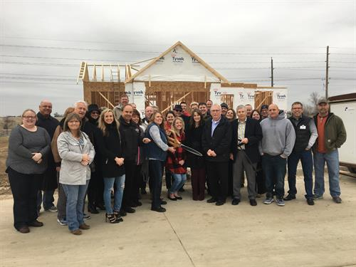 Ribbon Cutting for new Fairmeadows North Plat 8 subdivision, March 2018