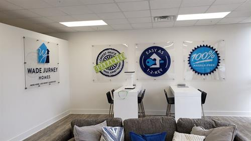 Acrylic Wall Signs with Decorative Stand Offs