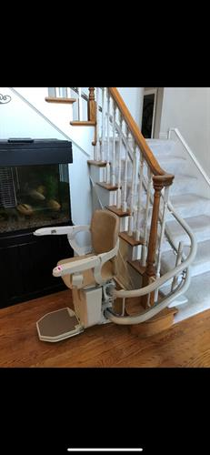 Curved Stair Lift - Example #2