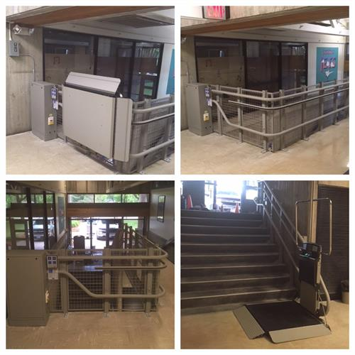 Inclined Platform Lift - Example #2