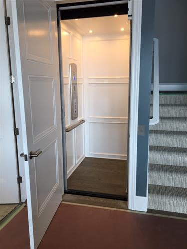 Residential Elevator with Swing Doors