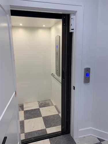 Residential Elevator - Swing Door Example #2