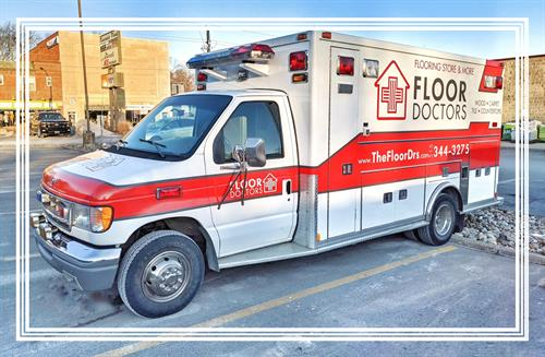 Our Mobile Showroom Ambulance