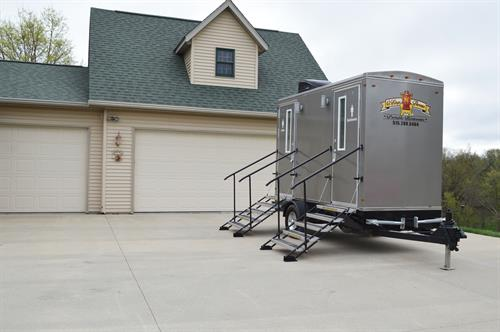 Princess Climate Controlled Restroom Trailer
