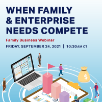 When Enterprise and Family Needs Compete – The Benefits of Parallel Planning for Next Generation Owners