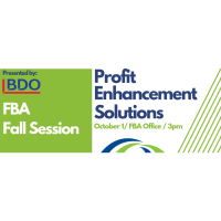 FBA Fall Session: Profit Enhancement Solutions