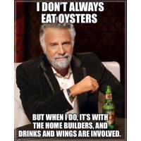 Christmas at the Sanitary Oyster Bar!